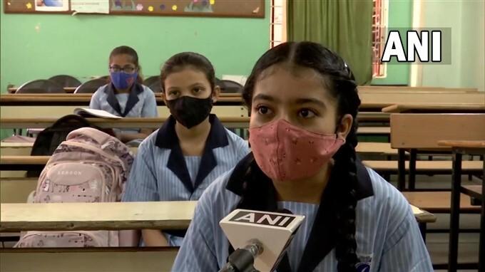 Schools Reopen For Classes 6 To 8 In Gujarat
