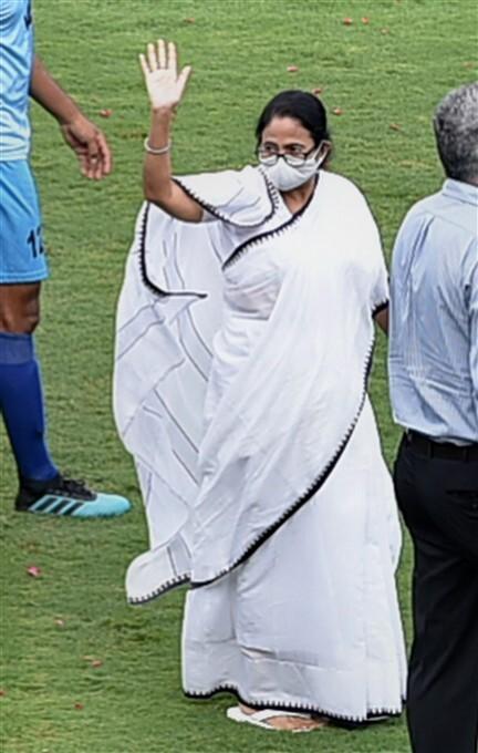 WB CM Mamata Banerjee At Durand Cup Inauguration
