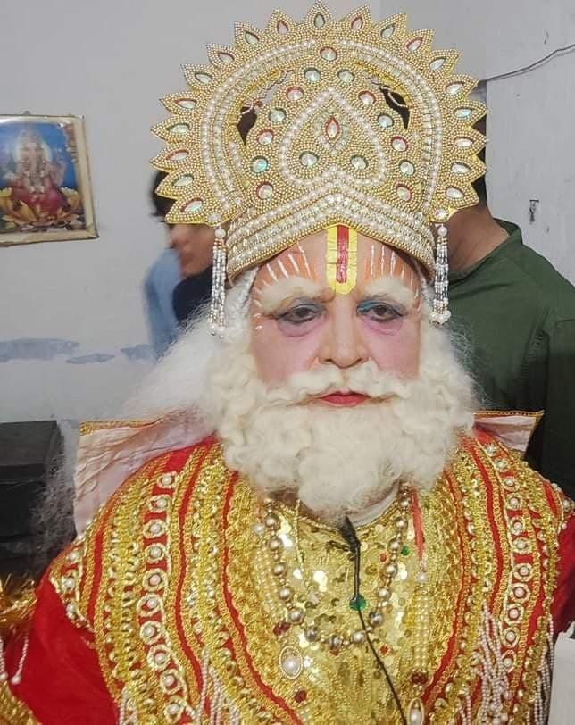 कैबिनेट मंत्री बंशीधर भगत रामलीला में बने 'दशरथ', 43 सालों से लूट रहे है वाहवाही