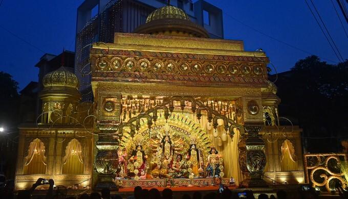 Durga Puja Celebration Across India, 13/10/2021