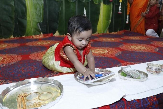 AP Deputy CM Pushpa Srivani Daughters Rice Feeding Ceremony
