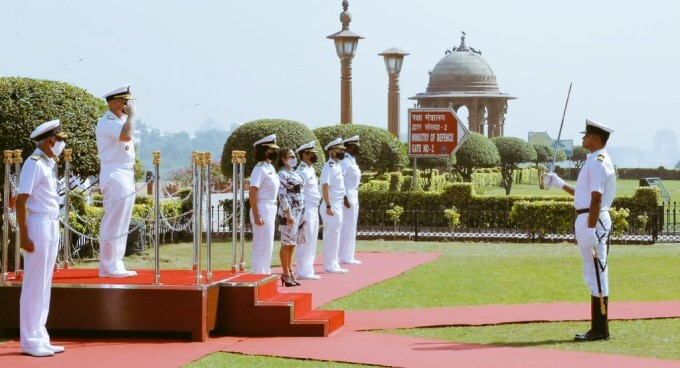 US Chief Of Naval Operations Admiral Michael M Gilday 5 Days Visit To India