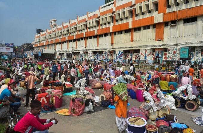 Durga Puja Celebration Across India, 11/10/2021