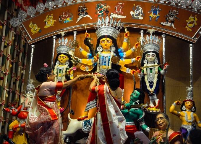 Durga Puja Celebration Across India, 12/10/2021