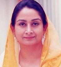 ഹർസിമ്രത് കൗർ ബാദൽ